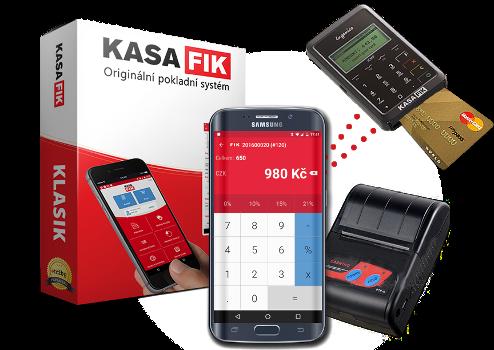 KASA FIK EET Pokladna Zdarma FREE Pro Android