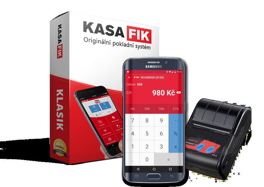 KASA FIK Pokladna EET pro Android
