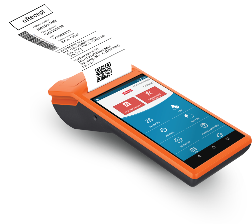 KASA FIK eRecept Aplikace Android