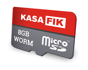 WORM SD card flash e-kasa memory Write Once, Read Many