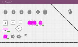 ekasa do reštaurácie ponúka grafickú mapu stolov