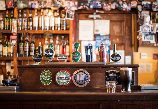 odťažovanie skladu piva v bare