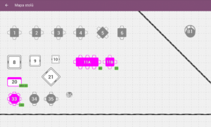 graficka mapa stolu v aplikaci kasa fik