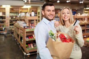 platba platobnými kartami v obchode